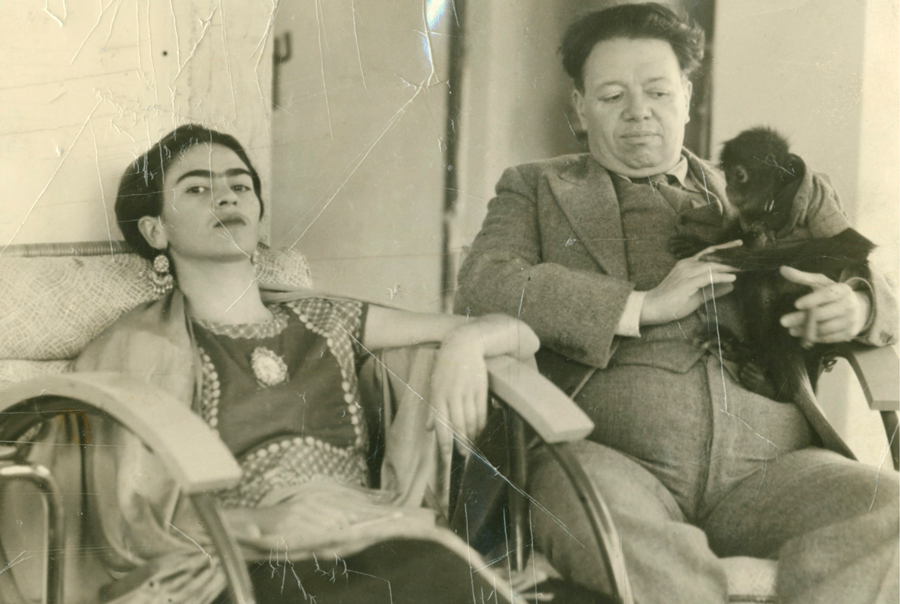 Frida and Diego with Fulang Chung 1937