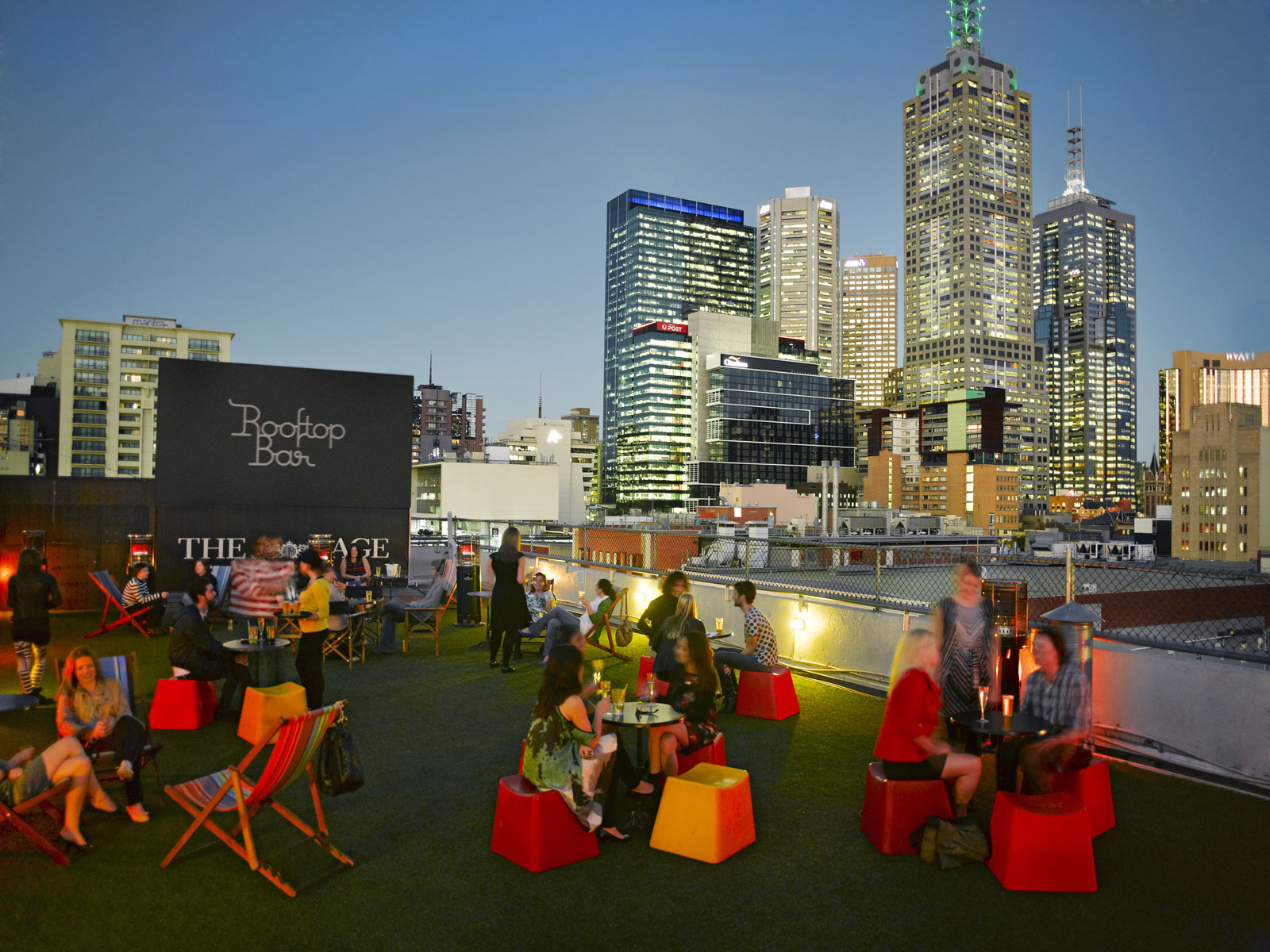 Image result for rooftop bar swanston street