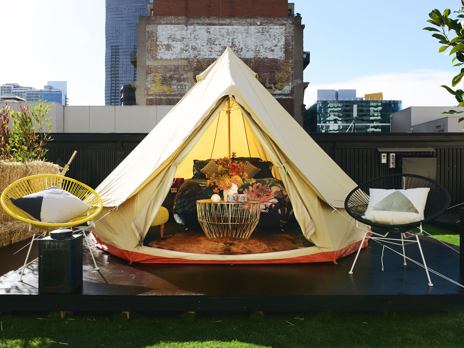 Rooms & Luxe Tents Youu0027ll Want to Camp in During the Melbourne Winter ...